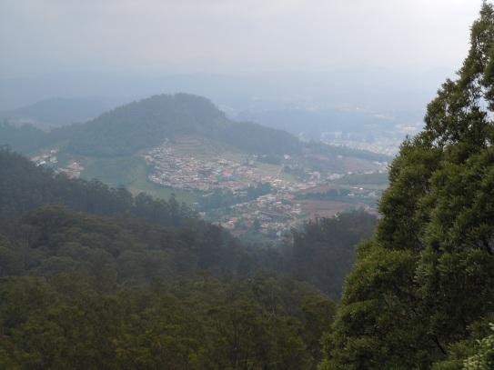 From Doddabetta Peak View